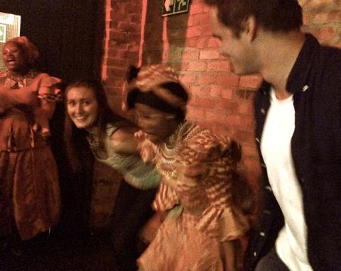 Øyvind og Britt-Nora er med på dans!!