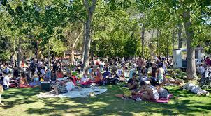 Sommerstemning i parken